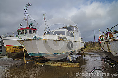 Big Old Rusty Steel Boat Royalty Free Stock Images - Image: 34903439