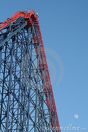 The Big One  Rollercoaster at Blackpool Pleasure Beach.