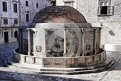 Big Onofrio s Fountain in Dubrovnik, Croatia