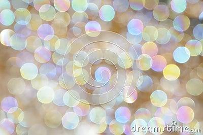 Big pearl circles bokeh