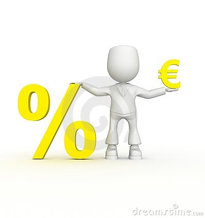 Big percent of your euro!