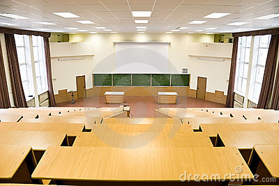 Big physics lecture hall