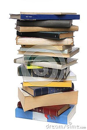 Free Big Pile Of Books Stock Image - 1423331