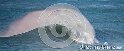 Big power ocean wave
