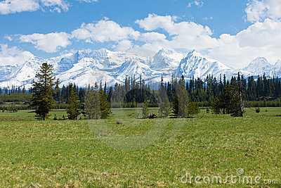 Big Prairie and Mountain Range, Montana