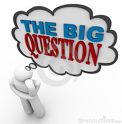 The Big Question - Thought Bubble