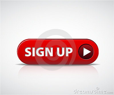 Big red sign up now button