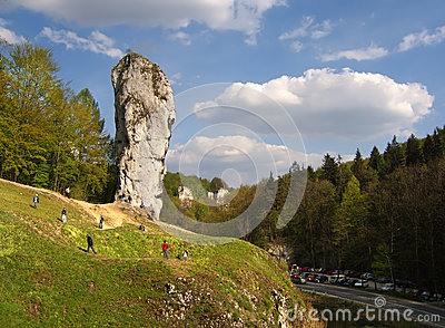 Big rock in Poland