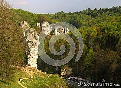 Big rocks in Poland