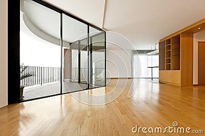 Big room with window