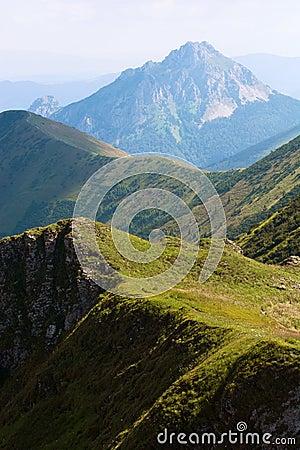 Free Big Rozsutec (Velky Rozsutec), Mala Fatra Mountain, Slovakia Royalty Free Stock Images - 32525319