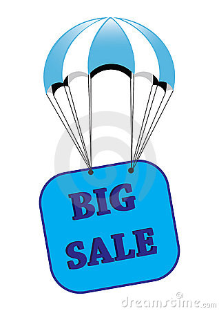 Big sale announcement