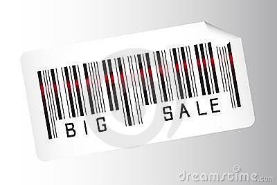 Big sale bar code