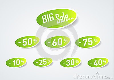 Big Sale Discount Symbol