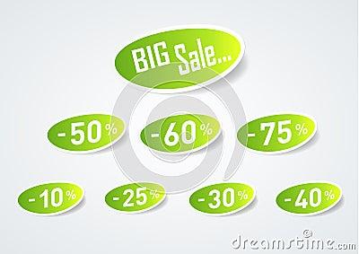 Big Sale Discount Symbol