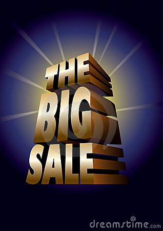 The Big Sale_gold