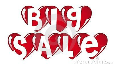 Big sale hearts