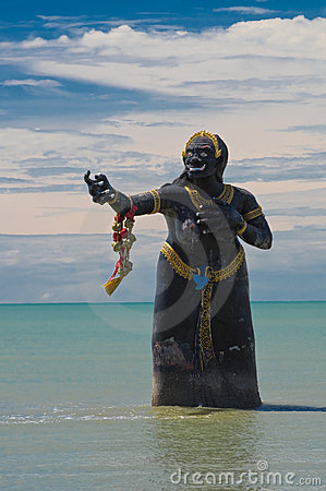 Big sea demon in the sea