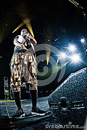 Big Sean concert at Bumbershoot Editorial Stock Image