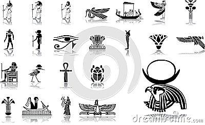 Big set icons - 12. Egypt