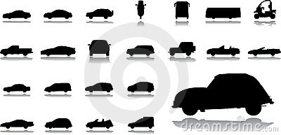 Big set icons - 14. Cars