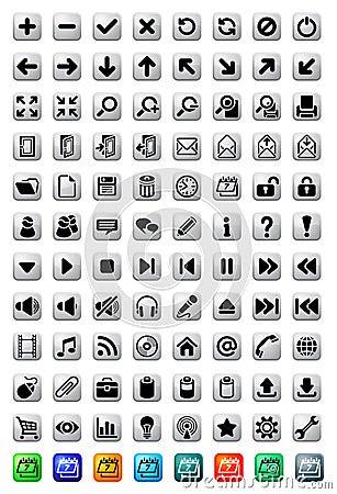 Big set of  icons