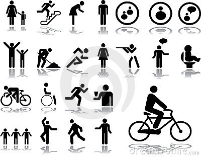 Big set icons - 3. People