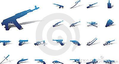 Big set icons - 9A. Weapon
