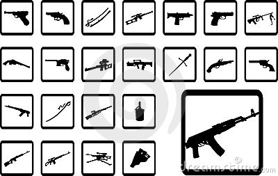 Big set icons - 9B. Weapon