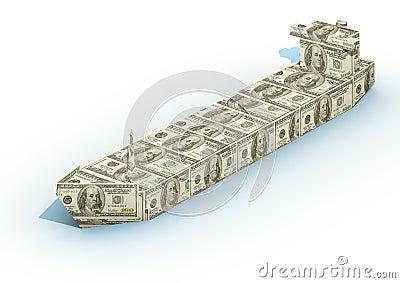 Big ship from dollar
