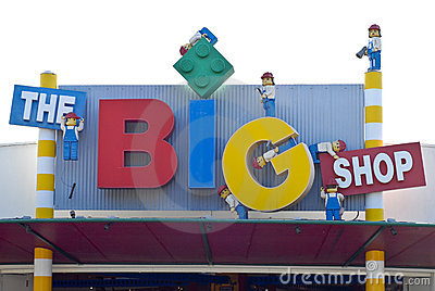 The Big Shop Editorial Photography