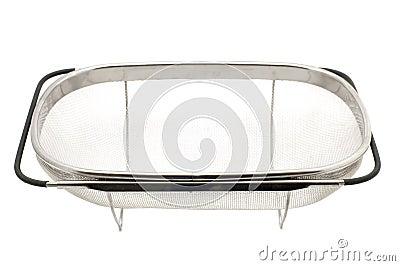 Big sieve on white