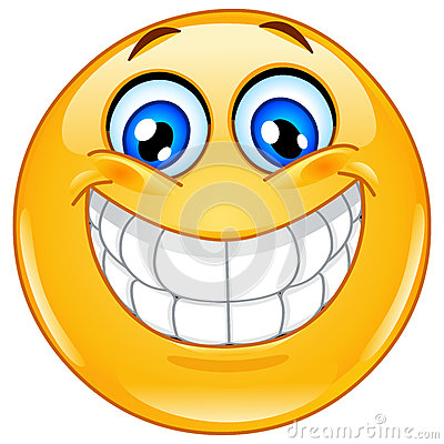 Free Big Smile Emoticon Stock Photo - 26256350