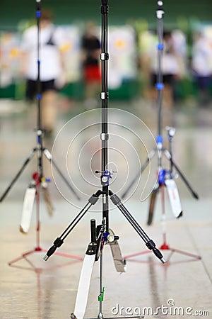 Big sport bows stand on stilts
