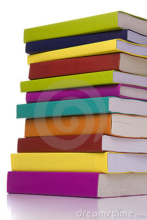 Big stack of books