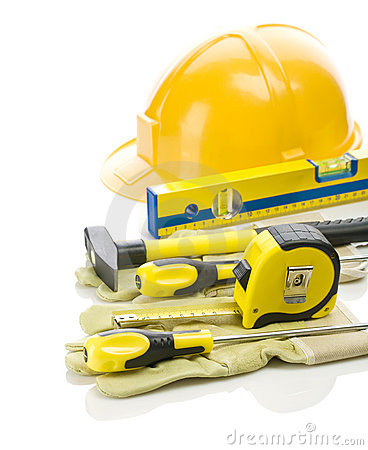 Free Big Stack Of Building Tools Stock Photos - 17368363