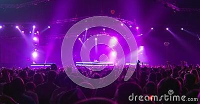 Big stage concert