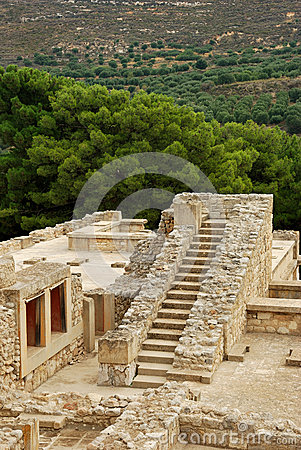 The big Stairs at Knossos