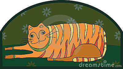 Big Striped Cat