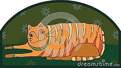 Big Striped Cat