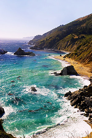 Free Big Sur, California Royalty Free Stock Images - 2516539