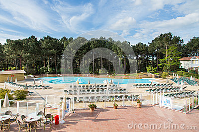 Big swimming pool