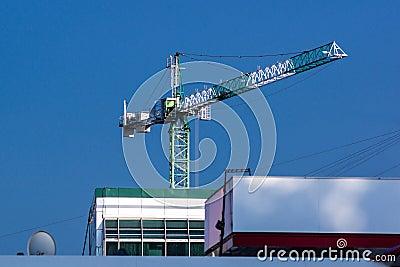 Big tall crane