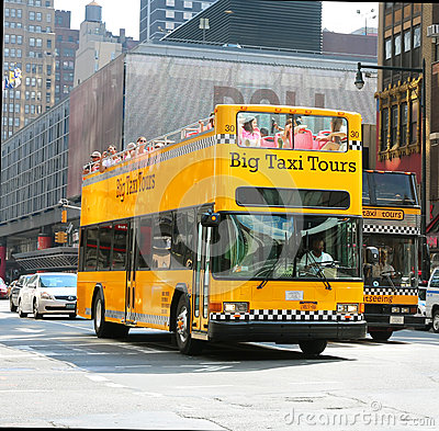 Big Taxi Tours Editorial Image