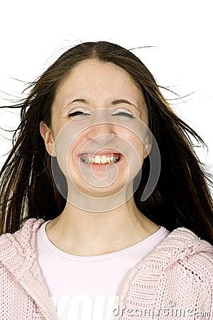 Big teenage smile :)
