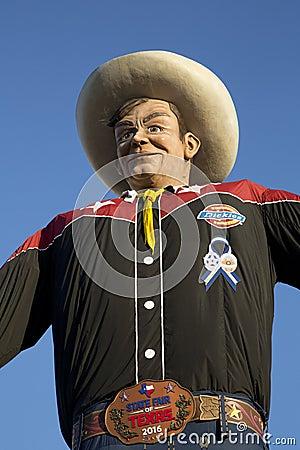 Big Tex at State Fair of Texas Dallas Editorial Stock Photo