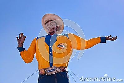 Big Tex at the Texas State Fair Editorial Image