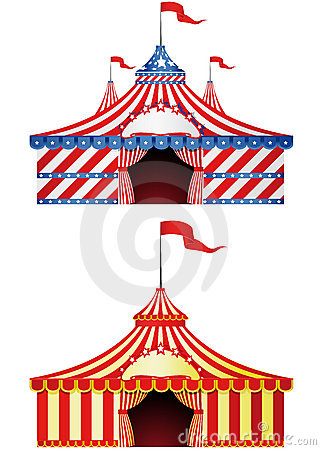 Free Big Top Circus Royalty Free Stock Image - 15143996