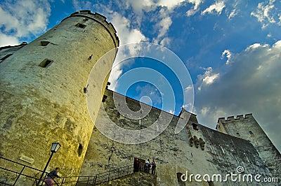 Big Tower Inside Hohensalzburg Castle