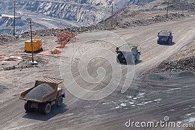 The big trucks